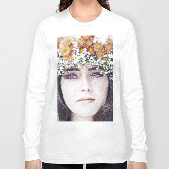 Face flower Long Sleeve T-shirt