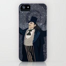 Oswald Cobblepot - The King Penguin Returns! iPhone Case