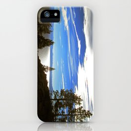 Shadowy North Lake Tahoe iPhone Case