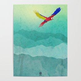 Macaw (Guacamaya) Poster