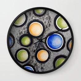 Circular Universe 2 Wall Clock