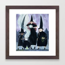Witches Framed Art Print