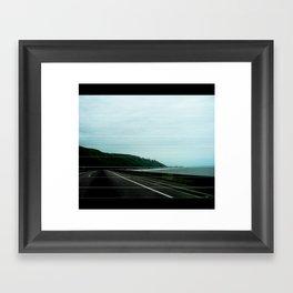 SANTA BARBARA COAST Framed Art Print