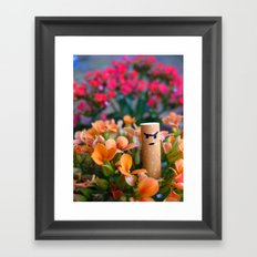 I am a Flower Framed Art Print