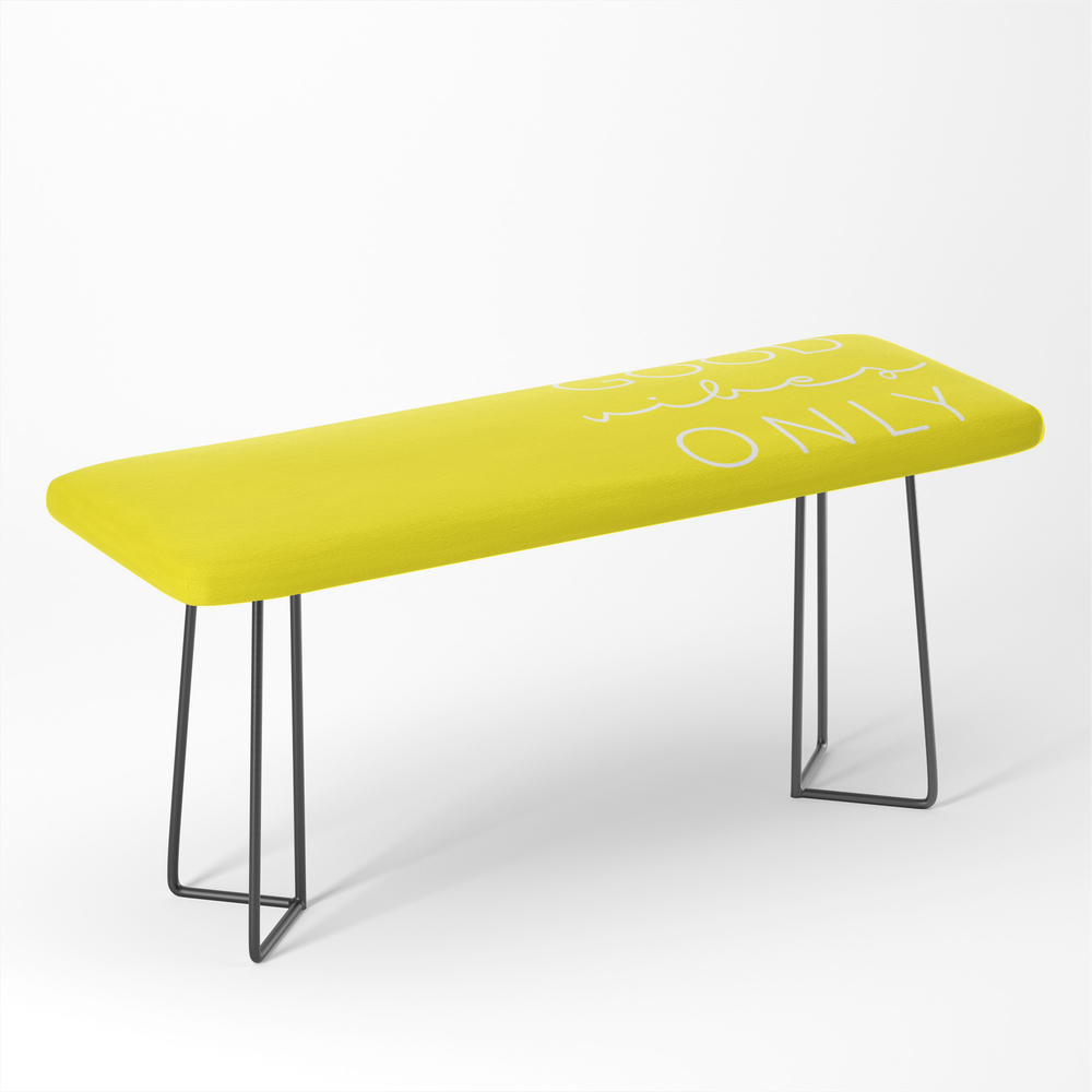 Good_Vibes_Only_Yellow_White_Bench_by_shape51