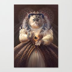 Cat Queen Canvas Print