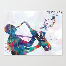 music Canvas Print
