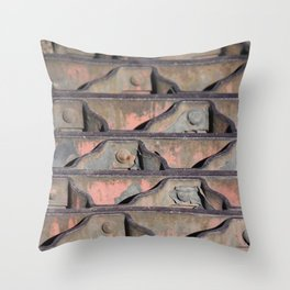 Grate Curves Throw Pillow