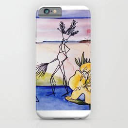 `GLOOSCAP'  From the Mic Macs, Canada Lege     by Kay Lipton iPhone Case