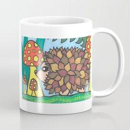 Hedgehog Doubled Coffee Mug