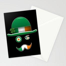 Irish Flag Face. Stationery Cards