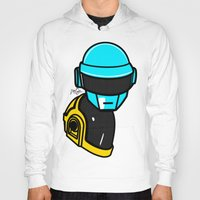 lichtenstein Hoodies featuring Daft Punk by Alli Vanes