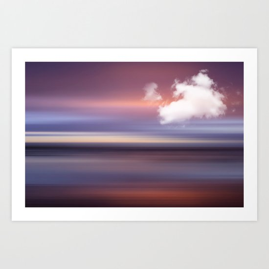 The Sound of Light and Color - MORNING GLOW Art Print