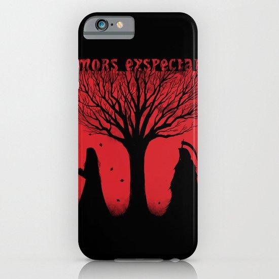 Mors Exspectat iPhone & iPod Case