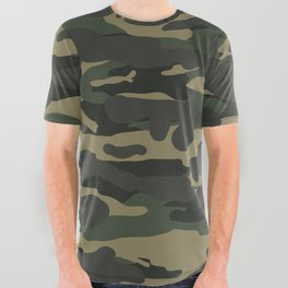 Camo All Over Graphic Tee