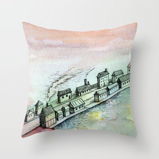 dreamscape Throw Pillow