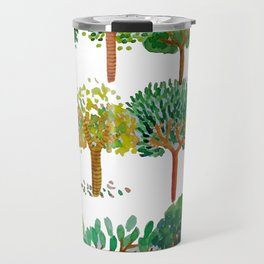Tree backgound Travel Mug