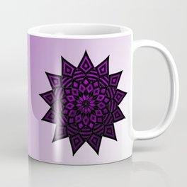 Purple Star   Tam Tam   Mandhala Coffee Mug