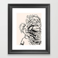Errosion of Freedom Framed Art Print