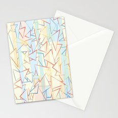 Attack of the Triangles. Stationery Cards