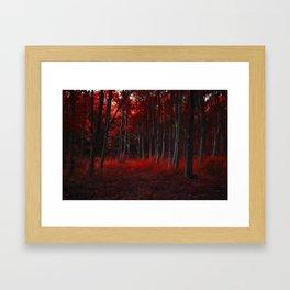 Scarlet Woods Framed Art Print