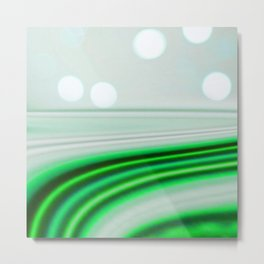 The Emerald Highway Metal Print