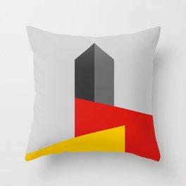 BAUHAUS TOWER Throw Pillow