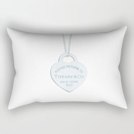 Tiffany locket Rectangular Pillow