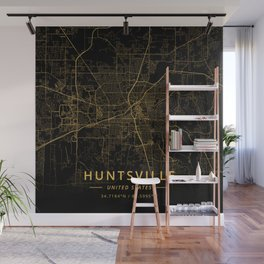 Huntsville, United States - Gold Wall Mural