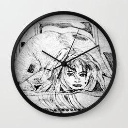 Spoon (College Art) Wall Clock