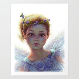 """""""Flutter"""" Art Print"""