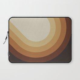 Retro Brown Laptop Sleeve