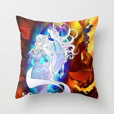 The Last Unicorn Throw Pillow