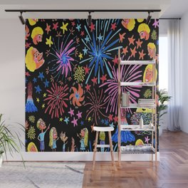 let's go see fireworks Wall Mural