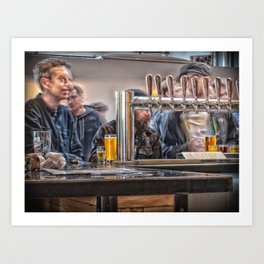 Barley Blur 2 Art Print