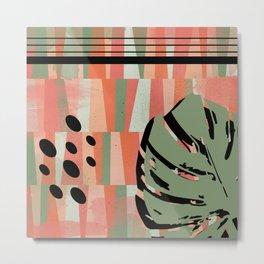Leafy N. 1 Metal Print
