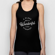 A Place Both Wonderful and Strange Unisex Tank Top