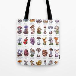 Devon Mushrooms Tote Bag