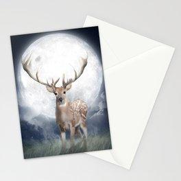 Midnight Deer Stationery Cards