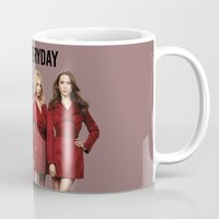 pretty little liars Mugs featuring #WCEveryday Pretty Little Liars cast by Illuminany