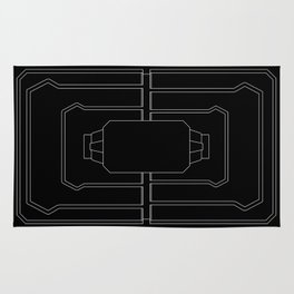 Welcome mat deployed Rug