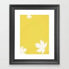 Simly falling Framed Art Print