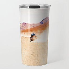 Road Racing Desert (Color) Travel Mug