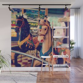 Merry-go-round Wall Mural