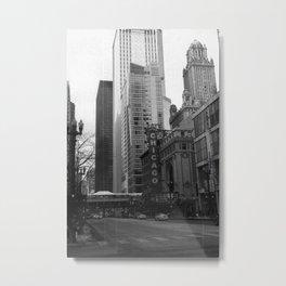 Chicago, IL Metal Print