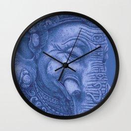 Ganesha blue Wall Clock