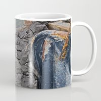 cracked Mugs featuring Cracked by Todd Langland
