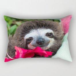 Bradypus Sloth Rectangular Pillow
