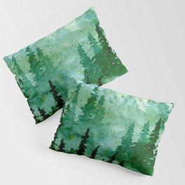 Deep in the pine woods Pillow Sham