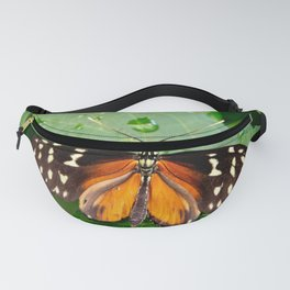 Tiger Longwing Butterfly Fanny Pack